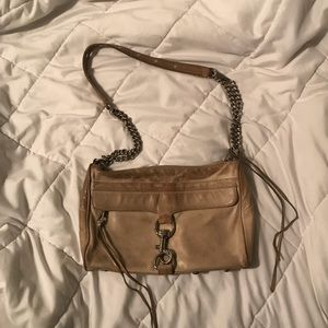 Rebecca Minkoff Beige Crossbody MAC bag AS IS